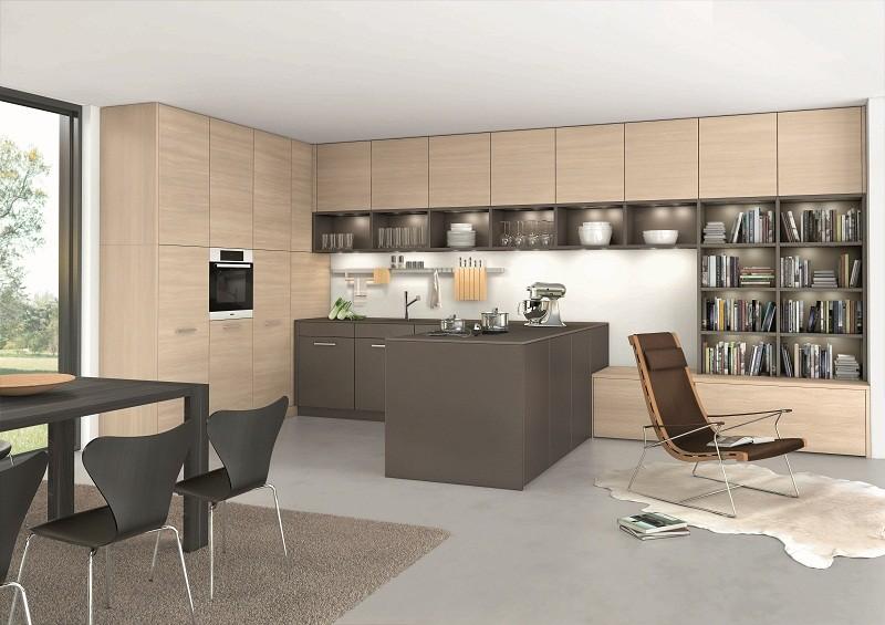 belle cuisine ouverte sur espace s jour orlando classic fs rangeval vente de cuisine. Black Bedroom Furniture Sets. Home Design Ideas